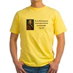 Benjamin Franklin 10 Yellow T-Shirt