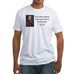 Benjamin Franklin 10 Fitted T-Shirt
