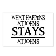 STAYS AT JOHN'S Postcards (Package of 8)