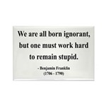 Benjamin Franklin 10 Rectangle Magnet (10 pack)