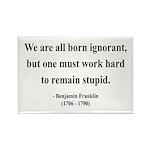 Benjamin Franklin 10 Rectangle Magnet (100 pack)