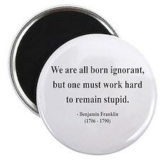 """Benjamin Franklin 10 2.25"""" Magnet (10 pack)"""