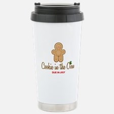 Cookie Due July Stainless Steel Travel Mug