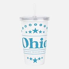 Ohio Acrylic Double-wall Tumbler