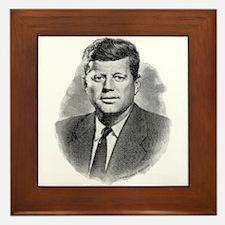 John Fitzgerald Kennedy Framed Tile