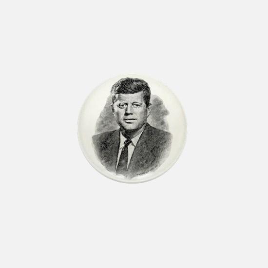 John Fitzgerald Kennedy Mini Button