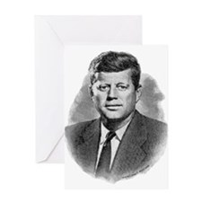 John Fitzgerald Kennedy Greeting Card
