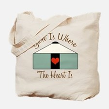 Where the Heart Is.. Tote Bag