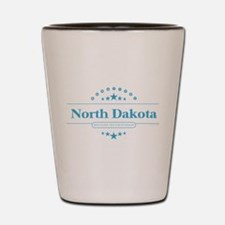 North Dakota Shot Glass