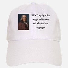 Benjamin Franklin 11 Baseball Baseball Cap
