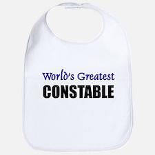 Worlds Greatest CONSTABLE Bib