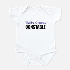 Worlds Greatest CONSTABLE Infant Bodysuit