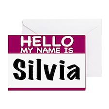 Silvia Greeting Card