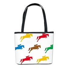 Equestrian Horses Bucket Bag