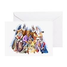 Great Dane Nativity Greeting Card