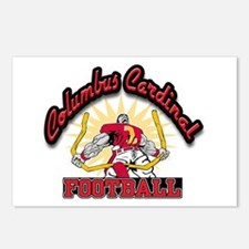 Cardinal Football Postcards (Package of 8)