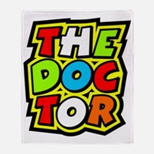 The Doctor Throw Blanket