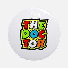 The Doctor Round Ornament