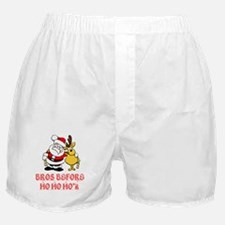 Santa And Rudolph Boxer Shorts