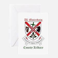 Ui Muiredaig - County Kildare Greeting Cards