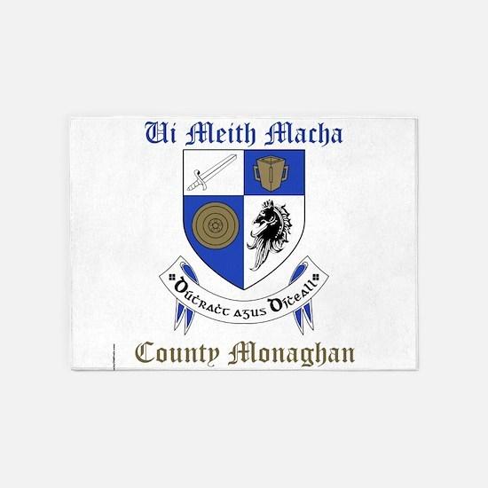 Ui Meith Macha - County Monaghan 5'x7'Area Rug