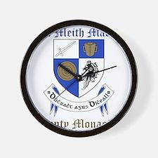 Ui Meith Macha - County Monaghan Wall Clock