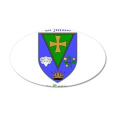 Ui Mealla - County Roscommon Wall Decal