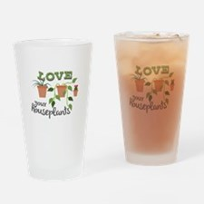 Love Your Houseplants Drinking Glass