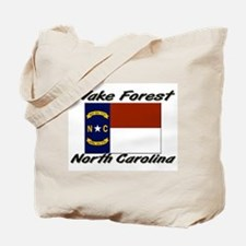 Wake Forest North Carolina Tote Bag