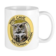 Wind Cave NP (Great Horned Owl) Small Mug