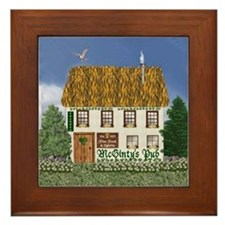 McGinty's Irish Pub Framed Tile