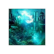 Fantasy unerwaterworld Sticker