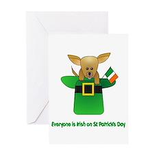 Everyone Is Irish Greeting Card