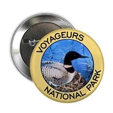 Voyageurs NP (Loon) Button