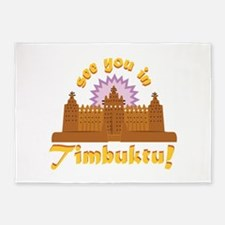 In Timbuktu! 5'x7'Area Rug