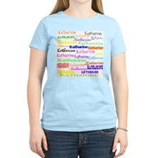 Katharine Women's Pink T-Shirt