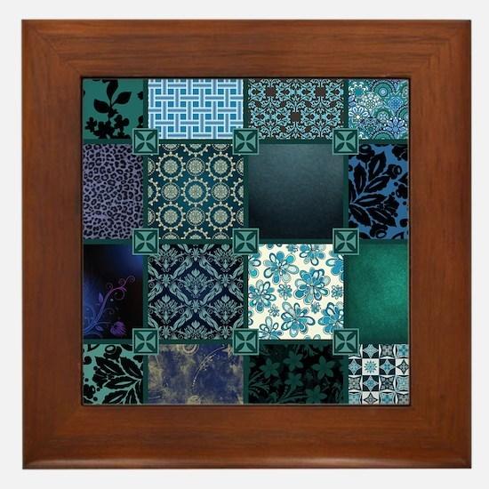 COOL WATER Framed Tile