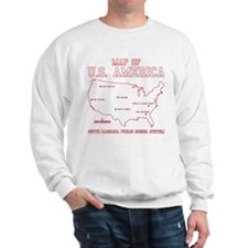 south carolina map of U.S. America Jumper