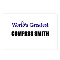 Worlds Greatest COMPASS SMITH Postcards (Package o