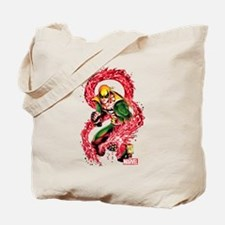 Iron Fist Red Dragon Tote Bag
