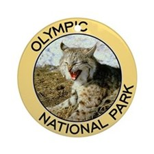 Olympic NP (Bobcat) Ornament (Round)