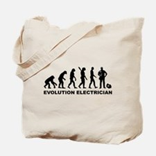 Evolution Electrician Tote Bag