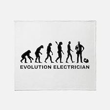 Evolution Electrician Throw Blanket