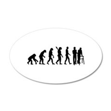 Evolution caregiver 20x12 Oval Wall Decal