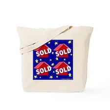 SUPERSTAR'S SOLD Tote Bag for Marketing Realtors