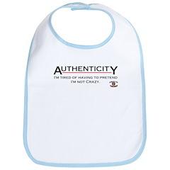 Authenticity Bib