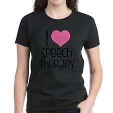 Cool Peace love speech therapy Tee