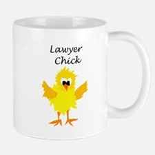 Funny Lawyer Chick Art Mugs