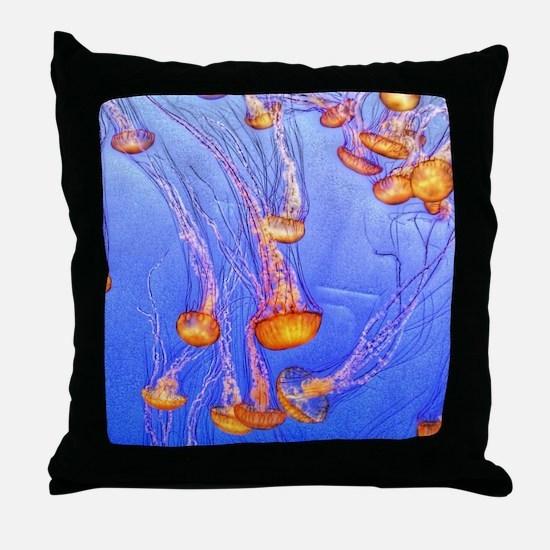 Unique Jellyfish Throw Pillow