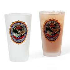 FBI Houston Intelligence Drinking Glass